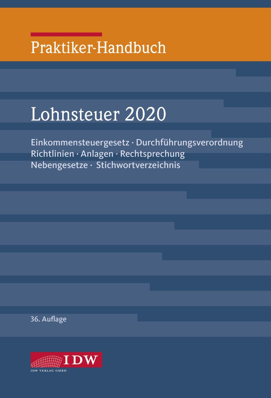 Praktiker-Handbuch Lohnsteuer 2020