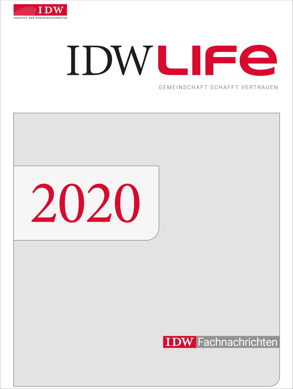 IDWLife, Einbanddecke 2020