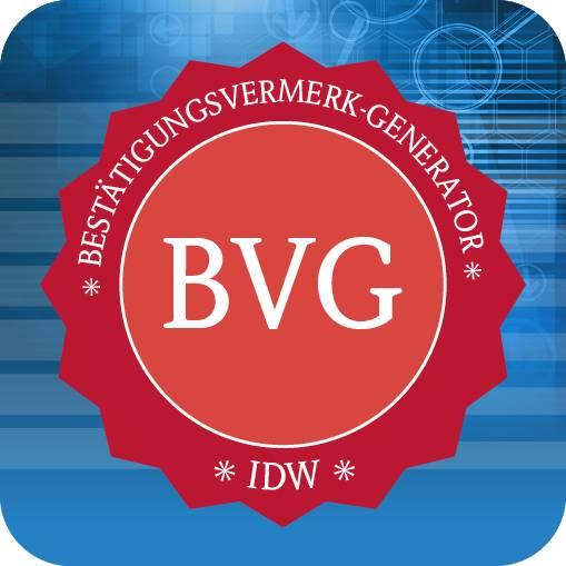 IDW Bestätigungsvermerk-Generator (BVG)