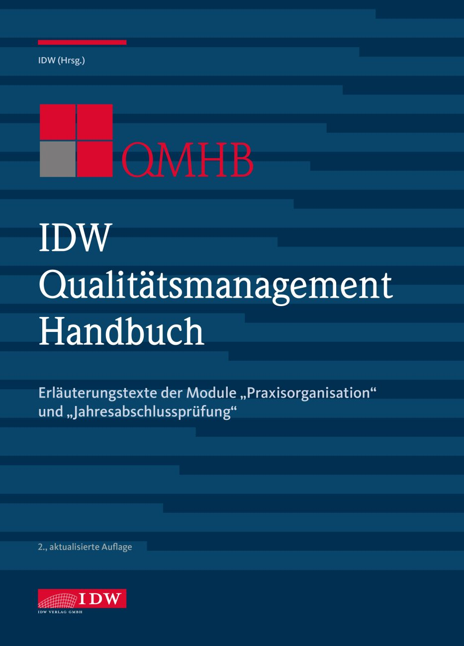 IDW Qualitätsmanagement Handbuch (QMHB) 2020-2021