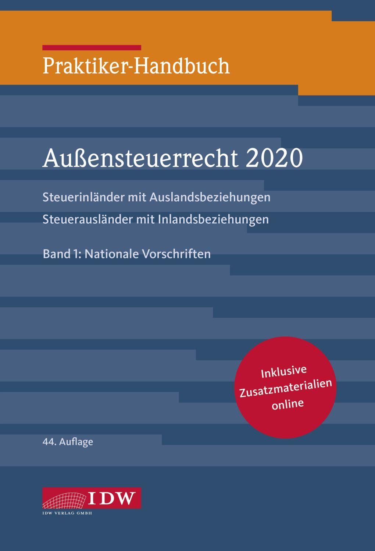 Praktiker-Handbuch Außensteuerrecht 2020