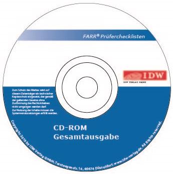 FARR® Prüferchecklisten 2020, CD-ROM