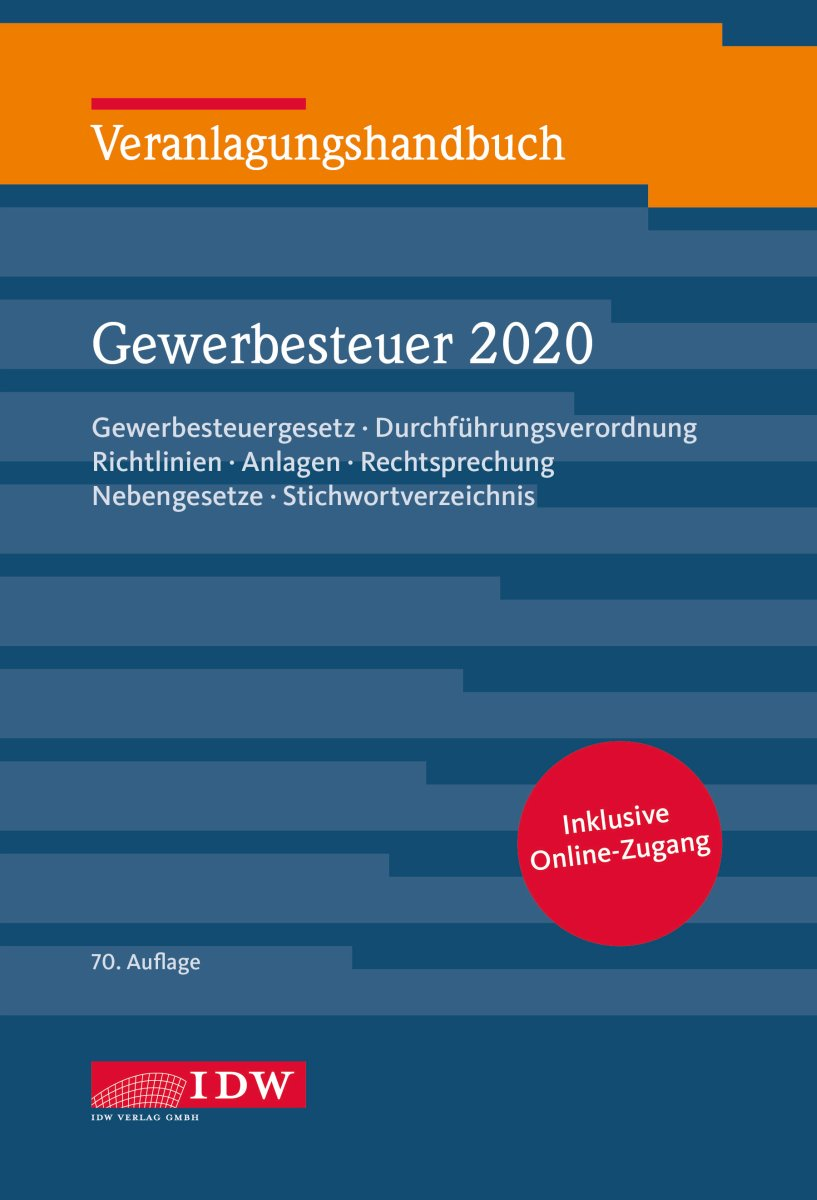 Veranlagungshandbuch Gewerbesteuer 2020