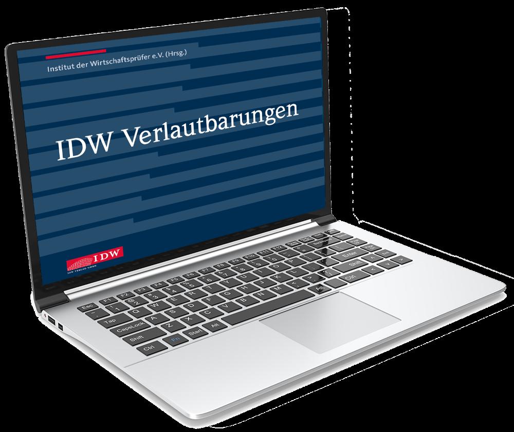 IDW Verlautbarungen - Online-Ausgabe