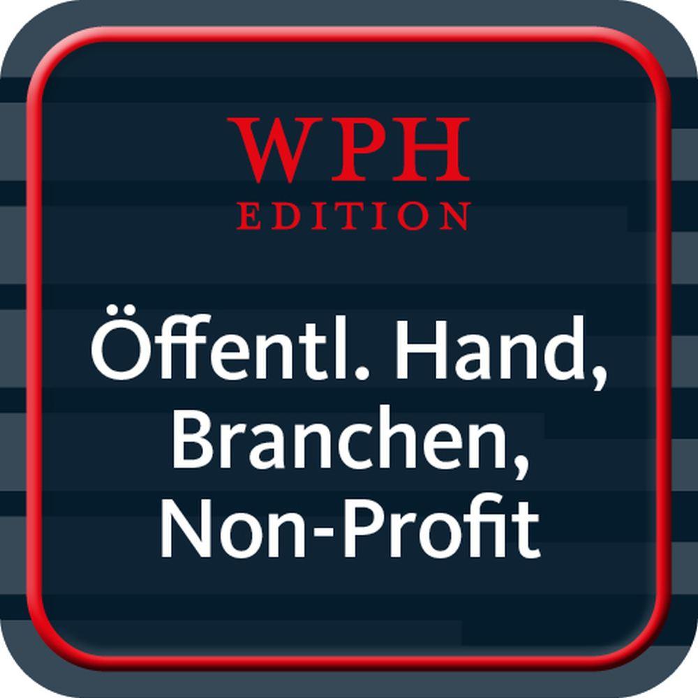 Öffentliche Hand, besondere Branchen und Non-Profits