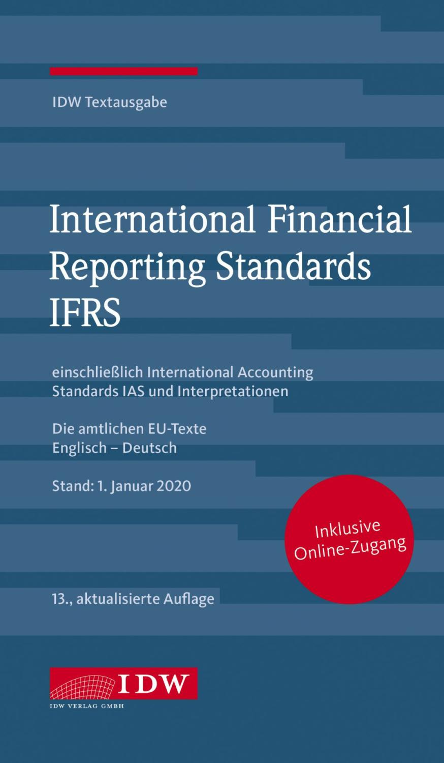 International Financial Reporting Standards IFRS 2021