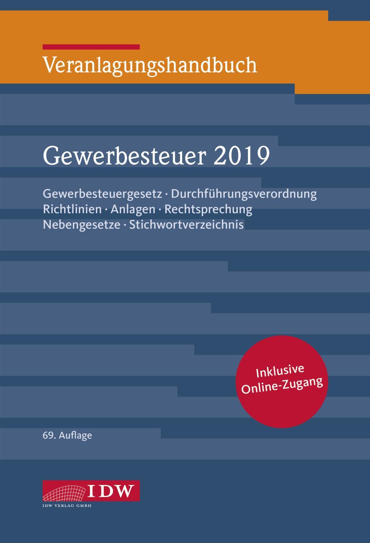 Veranlagungshandbuch Gewerbesteuer 2019