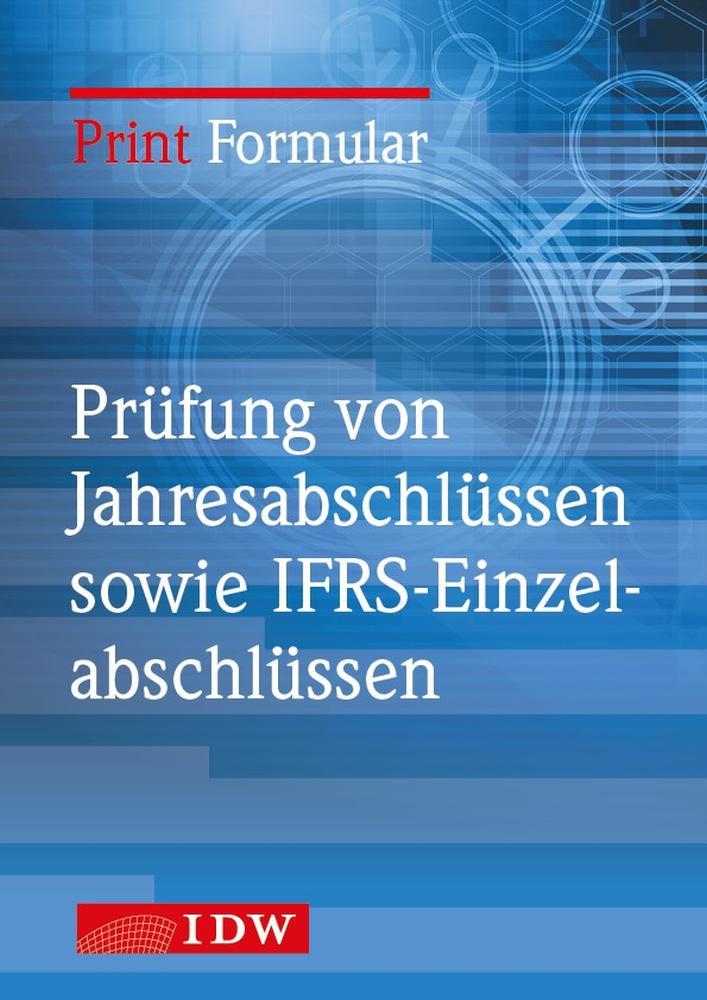 M1a Vollständigkeitserklärung Einzelabschluss und Lagebericht nach § 325 Abs. 2a HGB