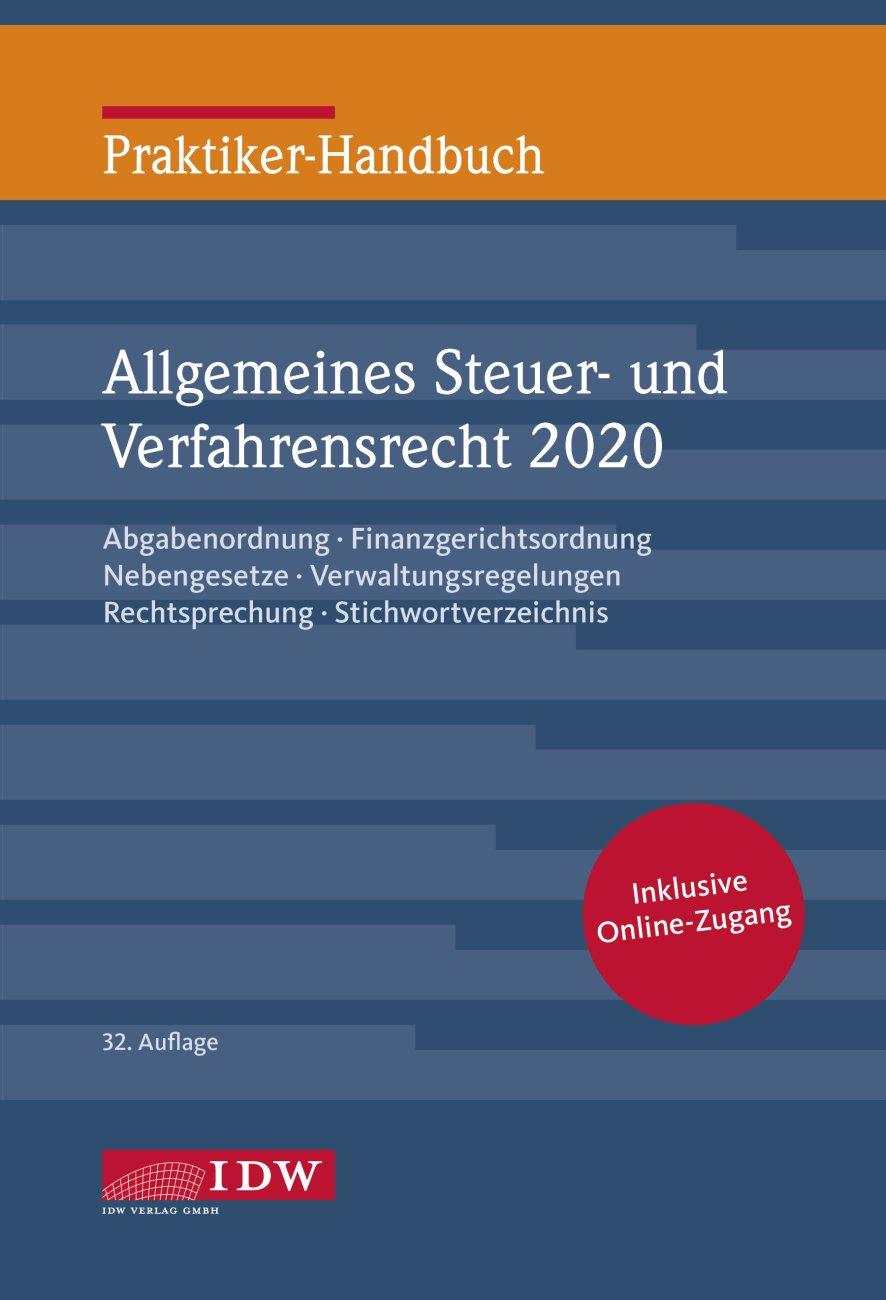 Praktiker-Handbuch Allgemeines Steuer- und Verfahrensrecht 2020