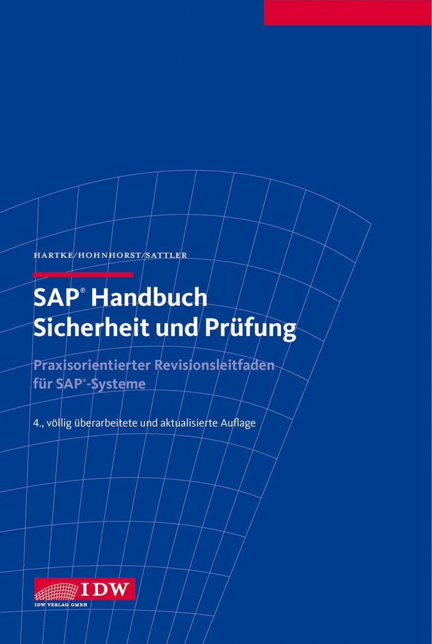 SAP Handbuch Sicherheit und Prüfung